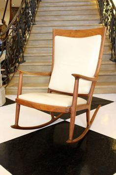 A Beautiful Sam Maloof Rocking Chair