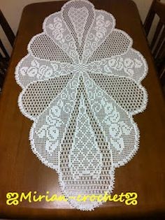 beautiful filet crochet