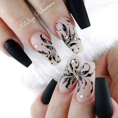and Beautiful Nail Art Designs Elegant Nail Art, Elegant Nail Designs, Beautiful Nail Art, Beautiful Ladies, Nail Polish Designs, Acrylic Nail Designs, Nail Art Designs, Cute Acrylic Nails, Cute Nails