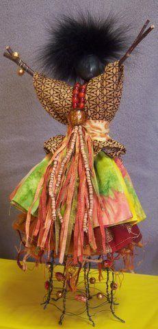Sticks & Stones - Art Doll by Carole Gary Staples African Dolls, Arte Popular, Doll Maker, Fairy Dolls, Soft Sculpture, Fabric Art, Beautiful Dolls, Textile Art, Paper Dolls