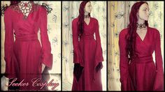 Melisandre Costume Game of ThronesSeason 3 by SeekerCosplayShop