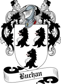 Buchan Family Crest  Buchan Coat of Arms   VIEW OUR SCOTTISH FAMILY CREST / SCOTTISH COAT OF ARMS PRODUCTS     Orders over $85 qualify for F...