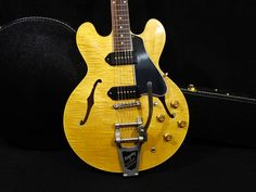 Gibson Memphis 1961 ES-330TDN w / Bigsby Figured VOS New w/ Hard case in Musical Instruments & Gear, Guitars & Basses, Electric Guitars | eBay