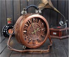 Bolsa Divertida Relógio Retro  Frete Grátis visite a loja online https://www.bolsasdivertidas.com.br/