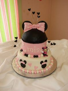 Minnie Mouse Birthday Party | Birthday Cakes