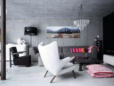 Картинки по запросу отделка бетон стены