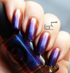 I Love Nail Polish Cygnus Loop from Ultra Chrome collection - Review & swatches - Lucys Stash
