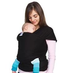 Moby Stretchy Wrap, black (1) Currently have.