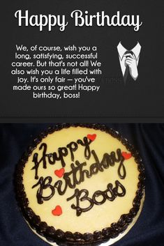 Best Boss Birthday Wishes Quotes With Images