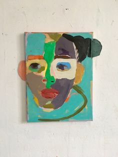 Galerie Valentien – Anne-Sophie Tschiegg, Galerie Valentien Stuttgart, Acryl a. Abstract Portrait, Portrait Art, Abstract Art, Portraits, Art And Illustration, Figure Painting, Painting & Drawing, Painting Inspiration, Art Inspo