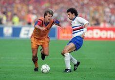 Final de la Copa de Campeones 1992, Barcelona-Sampdoria. Michael Laudrup VS Gianluca Vialli.
