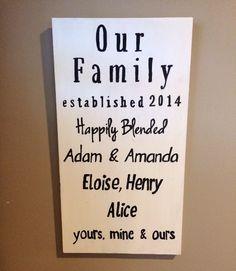 Our Family Happily Blended - Splintered Design Splintered Design