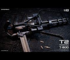 #Terminator2 #Terminator #Battle #DamagedEdition #Masterpiece #JudgementDay #ArnoldSchwarzenegger #Figurines #movable #TerminatorFans #fans #Enterbay #EnterbayUSA #LEDLight #M79Grenade #launcher #accessories #mightyweapons #interchangeable #M79 #M134 #MiniGun #Grenade