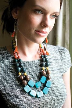 Del Mar Necklace- Noonday. love this. #giftwell