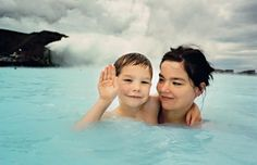 Björk & her son – Photographed by Juergen Teller, 1993