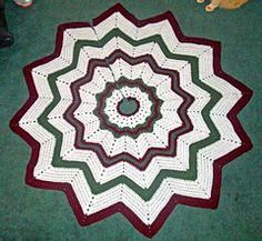 Free Crochet Patterns: Free Crochet Christmas Tree Skirt Patterns ...