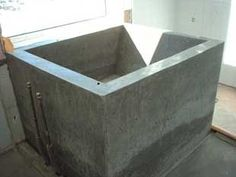 diy concrete soaking tub If I ever have a home big enough. i want one of these