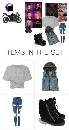 """mbav ({my babysitters a vampire oc :Ashe Weir })"" by playtimemangle on Polyvore featuring art"
