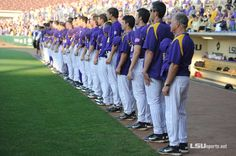 April 16, 2012. LSU ranked #1 by Collegiate Baseball Newspaper. GEAUX TIGERS!