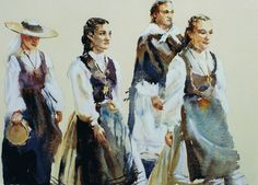 Brian Baxter: Santiago Girls Girls, People, Painting, Art, Saint James, Little Girls, Art Background, Daughters, Painting Art
