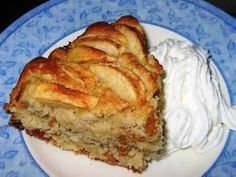 Apple cake (apple kuchen) from scratch.. easy and delish!
