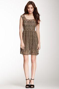 Cutout Back Crochet Dress by Papillon on @HauteLook