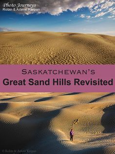 The Great Sand Hills in southern Saskatchewan, Canada, are the second largest sand dunes in Canada. Find out how easy is to access the active dunes. Vacation Trips, Vacations, Canada Tourism, Capital Of Canada, Saskatchewan Canada, Canada Trip, Canadian Travel, Camping Places, Travel Information