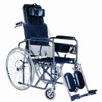 Steel Reclining Wheelchair Elevating Legrest