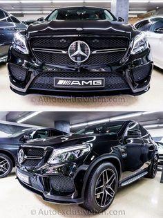 Mercedes GLE 43 AMG Coupé | 367 c.v | Negro | Piel Nappa Negra | Auto Exclusive BCN | Concesionario Ocasión Mercedes-Benz AMG Barcelona | http://autoexclusivebcn.com