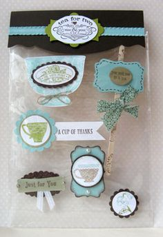 Card Candy swaps – part 2 | Sara's crafting and stamping studio