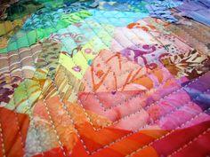 Canton Village Quilt Works/ exuberant color colorwash minis!