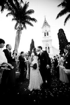 Casamento de dia em igreja | Casamento romântico | Inesquecível Casamento | Casamento | Wedding | Cerimônia de Casamento | Wedding Ceremony | Bride | Groom | I do | Just Married | Recém Casados | True Love