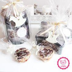 Yeah Geschenke verpacken mit selbstgemachten Salzteiganhängern <3 #salzteig #geschenke #verpacken #kinderleicht #freudemachen