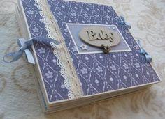 Baby Boy Mini Scrapbook Album Baby Boy Mini by Albumswithlove