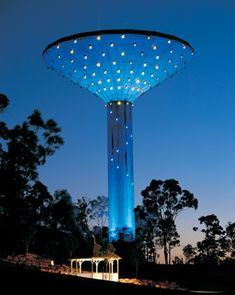 water towers -