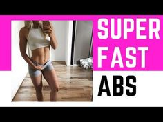 4 Exercises To Reduce Belly Fat For Female At Home (SUPER QUICK AB WORKOUT)