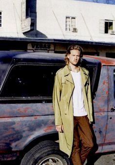 Dondup Trousers // Icon Magazine Man, Raincoat, Trousers, Jackets, Fashion, Pants, Down Jackets, Moda, Fashion Styles