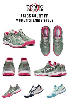 The best selection of Tennis Apparel at Tennis Express! Looking for tennis gear, outfits, or gifts? Free Shipping on orders over $50! Tennis Gear, Tennis Clothes, Tennis Store, Asics Women, Amazing Women, Adidas Sneakers, Free Shipping, Gifts, Outfits