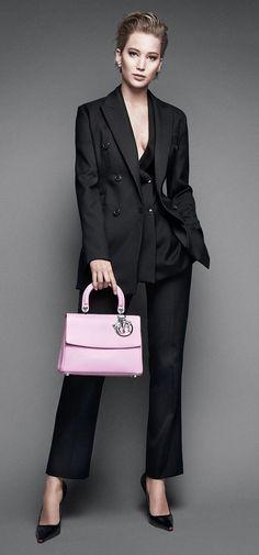 Jennifer Lawrence For Dior's Be Dior Bag Campaign.