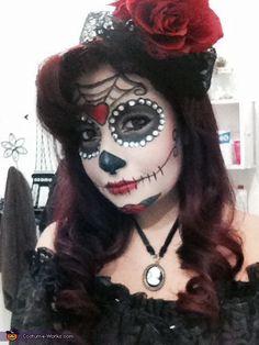 Dia de los Muertos aka Day of the Dead - Halloween Costume Contest via @costume_works