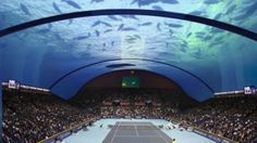 El lujoso proyecto en Dubái: ¿una cancha de tenis submarina? May 06, 2015.