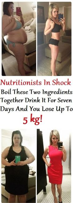Nutritionists In Shock Boil These Two Ingredients Together Drink It For Seven Days And You Lose Up to 5kg