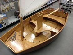 Light-weight Rowing and Sailing Dory That You Can Build ...