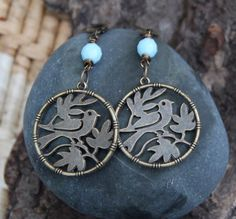 Let these earrings be a reminder that you can feel your wings, breathe deeply, and make the choice to fly when it serves you.