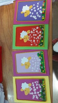 24 Ideias para aula de artes - Aluno On The Effective Pictures We Offer You About parenting Preschoo Easter Craft Activities, Easter Crafts For Kids, Kindergarten Art, Preschool Crafts, K Crafts, Paper Crafts, Lamb Craft, Spring Crafts, Kids And Parenting