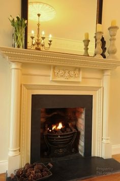 Gorgeous fire place