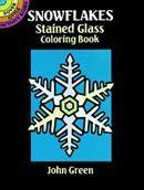 Dover Stained Glass Coloring Book Snowflakes
