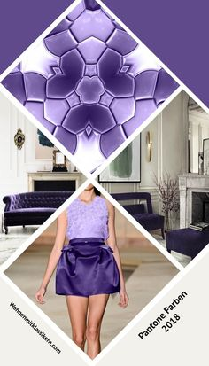 Farbe des Jahres 2018 #ultraviolet Pantone, Designer, Mood, Purple, Inspiration, Trends 2018, Color Of The Year, Modern Rugs, Homes