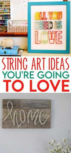 We love string art. It's just incredible the amazing projects you can create with some simple string designs. Add a geometric design as a border or do a full-on design created out of string. The possibilities are endless! #DIY #crafts #craftprojects #beads #beading #kidcrafts #teencrafts Cool Gifts For Teens, Birthday Gifts For Teens, Diy For Teens, Diy Projects For Teens, Crafts For Teens, Fun Projects, Bee Crafts, Easy Crafts