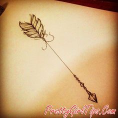 @prettygirltips Amazing Arrow Tattoos for Female